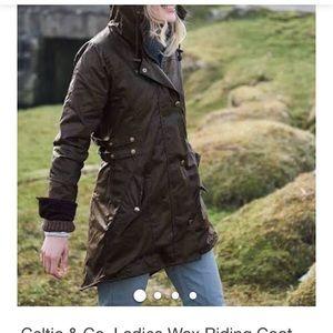 Celtic & Co. Waxed Riding Coat